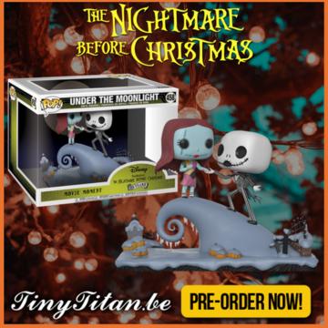 Funko POP! Jack & Sally Movie Moment PRE-ORDER Nightmare before Christmas