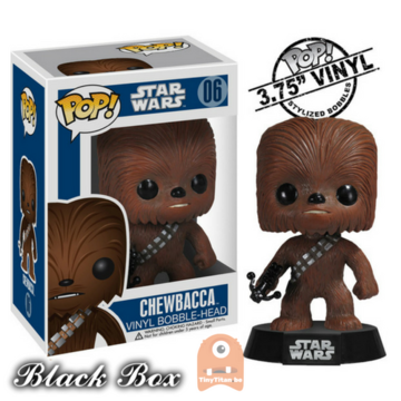 POP! Star Wars Chewbacca #06 (Black Box Error Misprint)