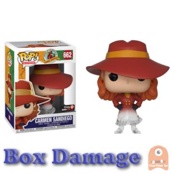 POP! Television Carmen Sandiego - Disappearing #645 DMG