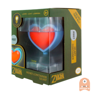 Paladone HEART CONTAINER 3D LIGHT - Zelda