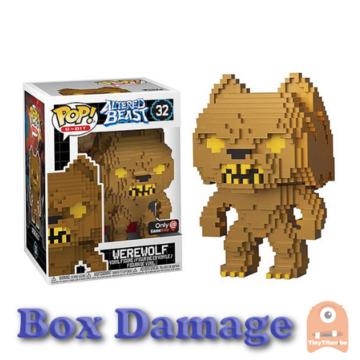 POP! 8-Bit Werewolf Gold #32 Altered Beast - DMG