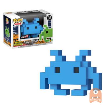 POP! 8-Bit Medium Invader - Blue #33 Space Invaders