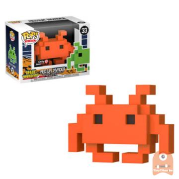 POP! 8-Bit Medium Invader - Orange #33 Space Invaders