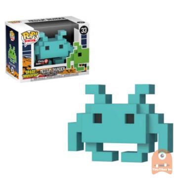 POP! 8-Bit Medium Invader - Teal #33 Space Invaders