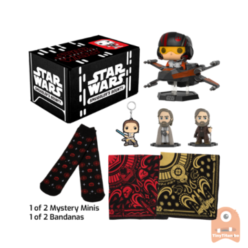 POP! Star Wars Smuggler's Bounty - The Last Jedi Subscription Box (One Size Fits All)