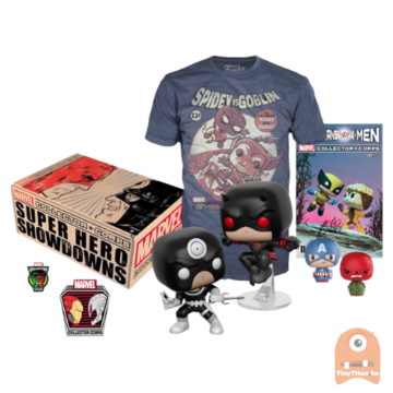 POP! Marvel Collector Corps Box Superhero Showdowns (Medium)
