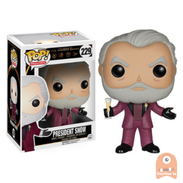 POP! Movies President Snow #229 The Hunger Games - Vaulted