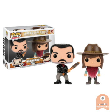 POP! Television Negan & Carl Grimes 2-pack The Walking Dead