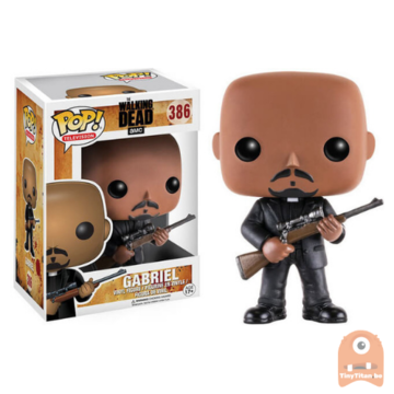 POP! Television Gabriel #386 The Walking Dead - Vaulted