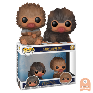 POP! Movies baby Nifflers 2-Pack Fantastic Beasts 2