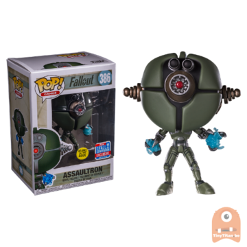 POP! Games Assaultron GITD #386 Fallout - NYCC