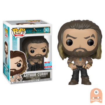 POP! Heroes Arthur Curry Shirtless #243 Aquaman - NYCC
