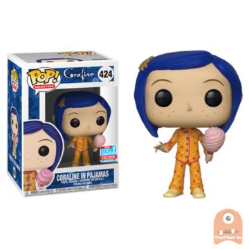 POP! Animation Coraline in Pajamas #424 Coraline - NYCC