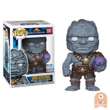 POP! Marvel Korg with Miek #391 Thor Ragnarok - NYCC