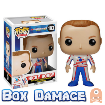 Movies Rick Bobby #183 Talladega Nights VAULTED - DMG