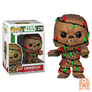 POP! Star Wars Chewbacca /w Lights #278 X-Mas