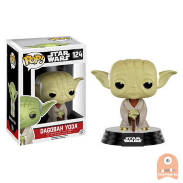 POP! Star Wars Dagobah Yoda #124