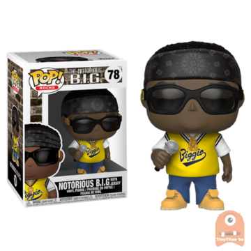 POP! Rocks The Notorious B.I.G. with Jersey #78