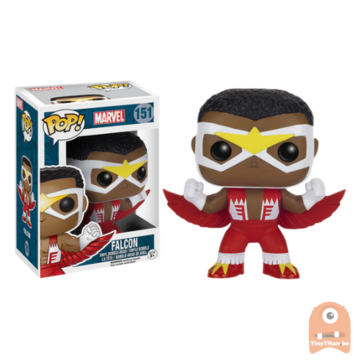 POP! Marvel Falcon #151 Vaulted