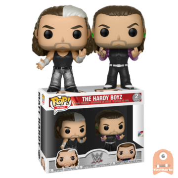POP! Sports The Hardy Boyz 2-Pack WWE