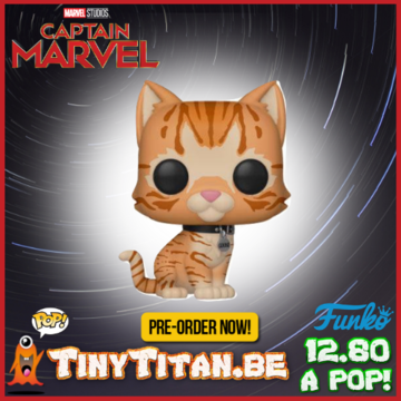 Funko POP! Goose the Cat PRE-ORDER Captain Marvel