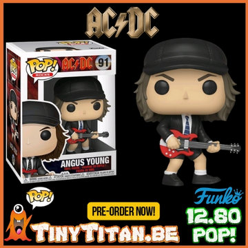 Funko POP! Angus Young -AC/DC PRE-ORDER