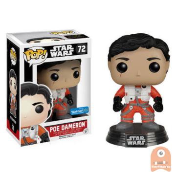 POP! Star Wars Poe Dameron - No Helmet #72