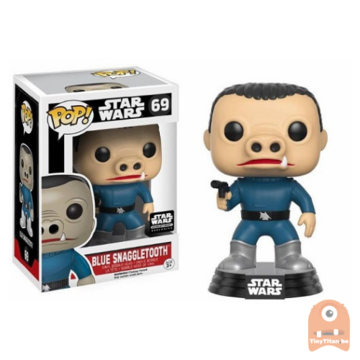 POP! Star Wars Blue Snaggletooth #69