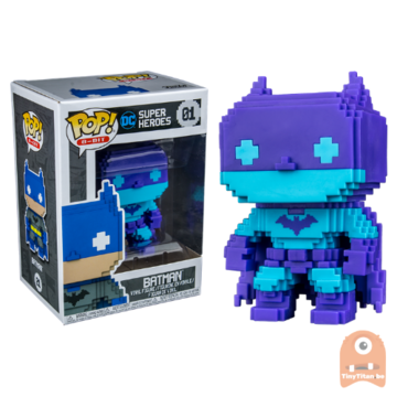 POP! 8-Bit Batman Blue Deco #01