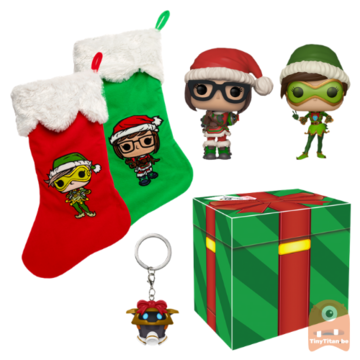 POP! Overwatch: Christmas Exclusive Collector Box