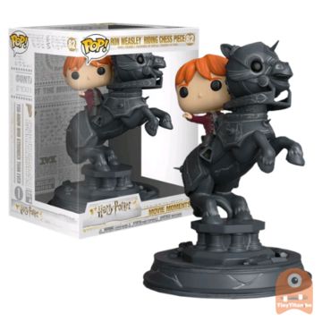 POP! Harry Potter Ron Weasley Riding Chess Piece #78 Movie Moment