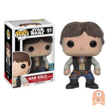 POP! Star Wars Han Solo Ceremony #91
