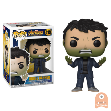 POP! Marvel Bruce banner Angry #419 Avengers Infinity War