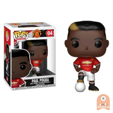 POP! Sports Paul Pogba #04 Manchester United