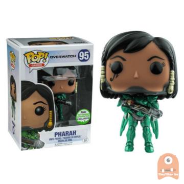 POP! Games Pharah Emerald #95 Overwatch ECCC