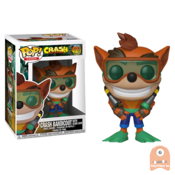 POP! Games Crash Bandicoot w/ Scuba Gear #421