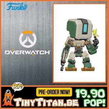 Funko POP! Bastion 6 INCH - Overwatch PRE-ORDER