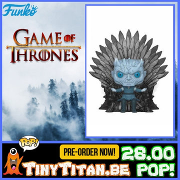 Funko POP! Deluxe Night King on Iron Throne - Game of Thrones PRE-ORDER