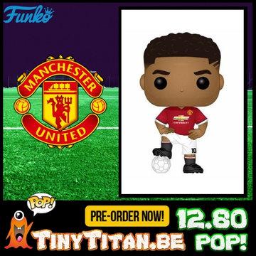 Funko POP! Marcus Rashford ManU - Football PRE-ORDER