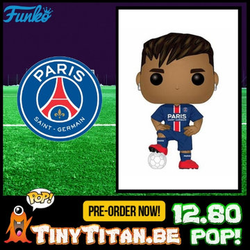 Funko POP! Neymar da Silva Santos Jr. PSG - Football PRE-ORDER