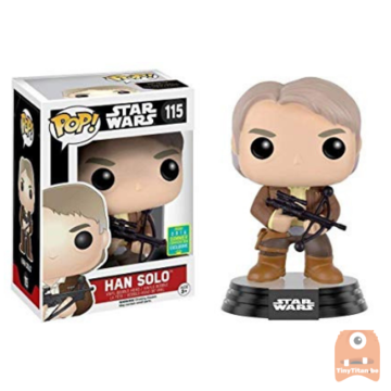 POP! Star Wars Han Solo #115 (Bowcaster) - SDCC