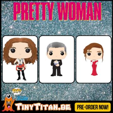 Funko POP! Set of 3 - Pretty Woman  PRE-ORDER