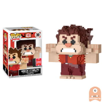 POP! 8-Bit Wreck It Ralph #30 Wreck it Ralph - SDCC