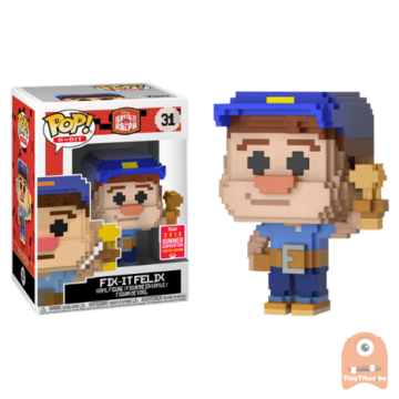 POP! 8-Bit Fix it Felix #31 Wreck it Ralph - SDCC