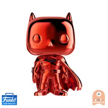 POP! Heroes Batman Red Chrome #144 DC Super Heroes