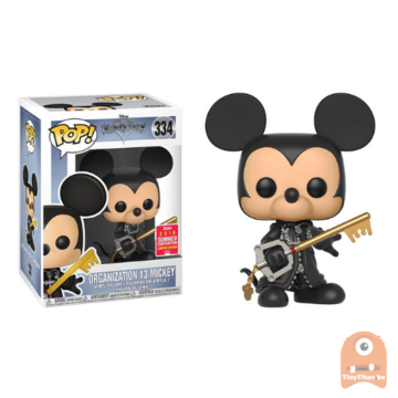 POP! Disney Mickey - Organization 13 Unhooded #334 SDCC