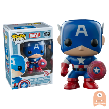 POP! Marvel Captain America - Photon Shield #159 75th
