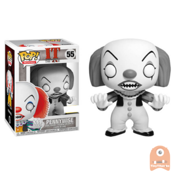 POP! Movies Pennywise Black & White #55 IT
