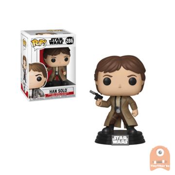 POP! Star Wars Endor Han Solo #286 Return of the Last Jedi
