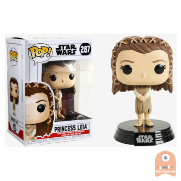 POP! Star Wars Ewok Village Princess Leia #287 Return of the Last Jedi